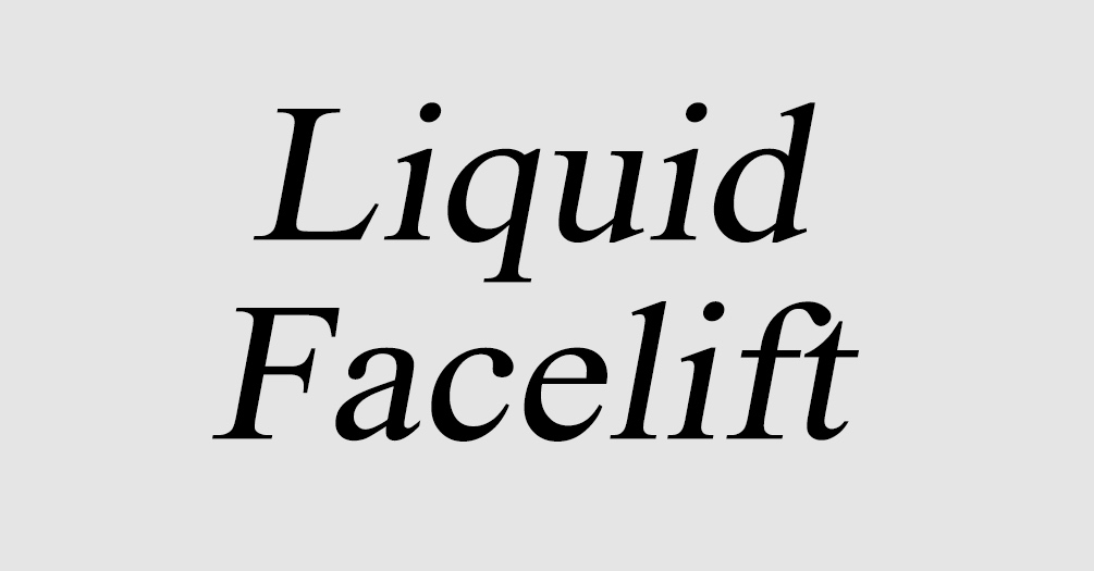 Liquid lift web